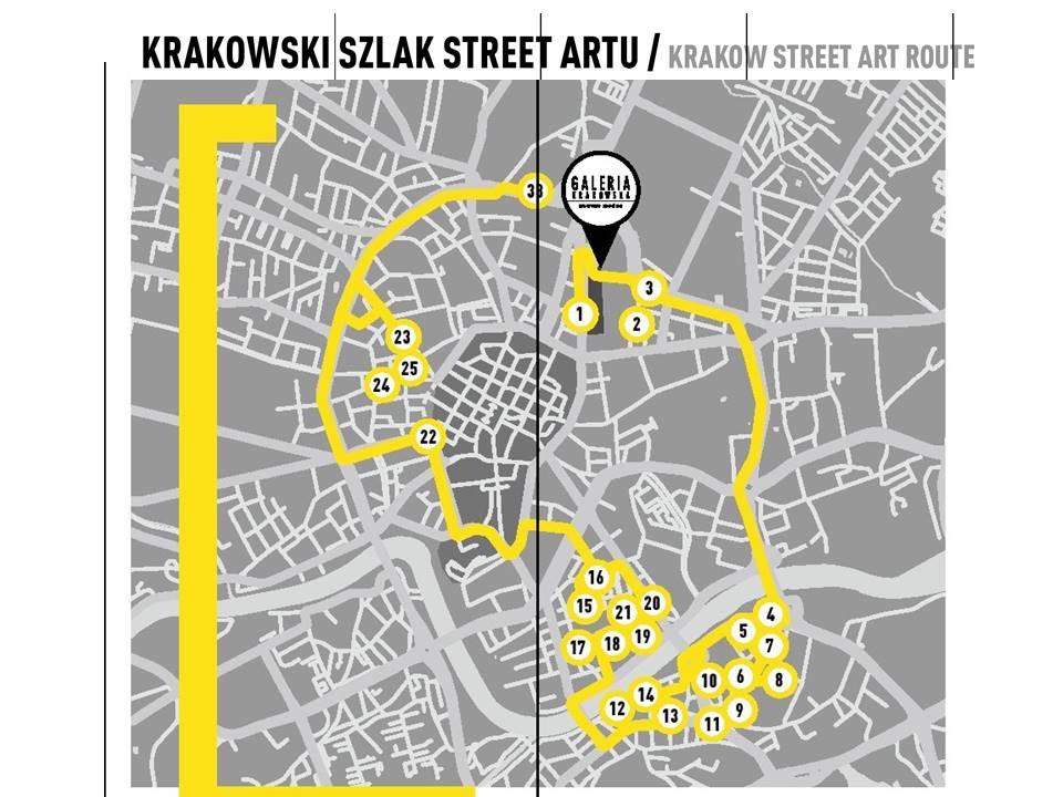 krakowski szlak street artu